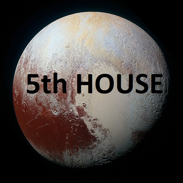 Pluto in houses
