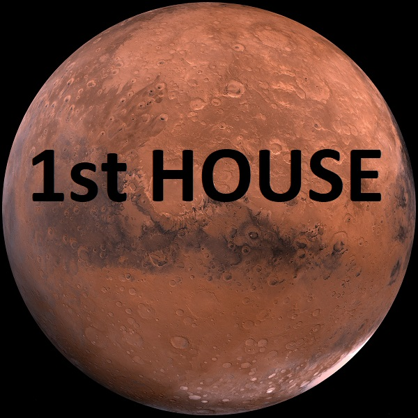 Mars in 1st house