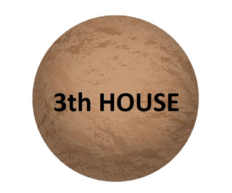 Mercury in 3th house