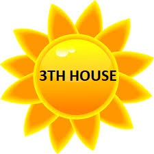sun in 3th house