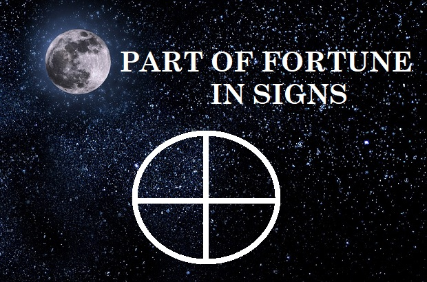 Part of Fortune in Signs