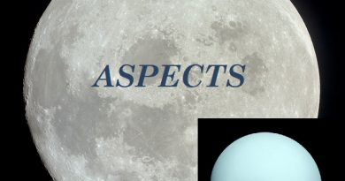 Natal Moon - Uranus aspects