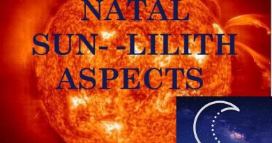 Natal Sun - Lilith aspects