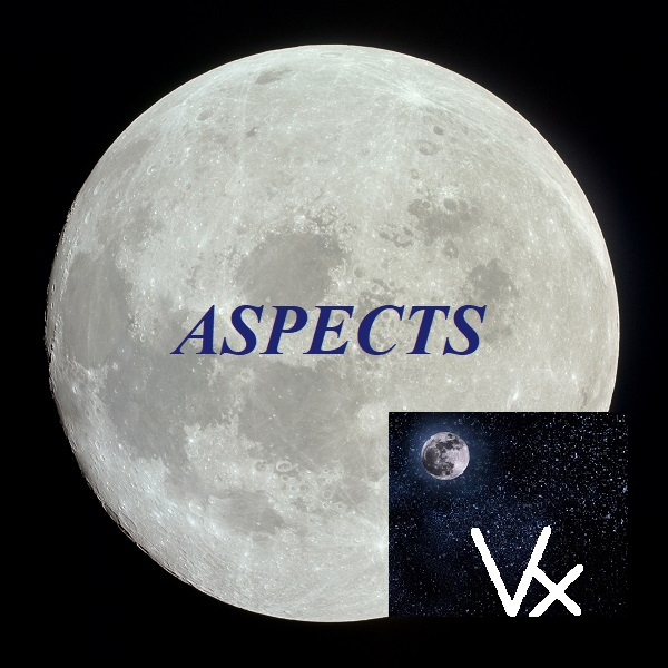 Natal Moon - Vertex aspects