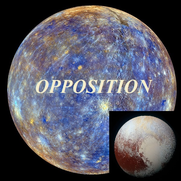 Mercury opposition Pluto
