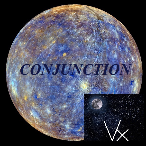 Mercury conjunct Vertex
