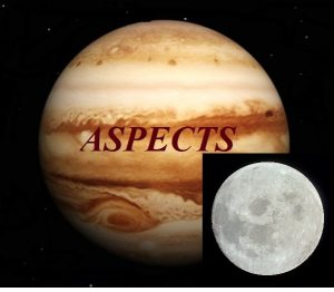 Natal Jupiter – Moon aspects