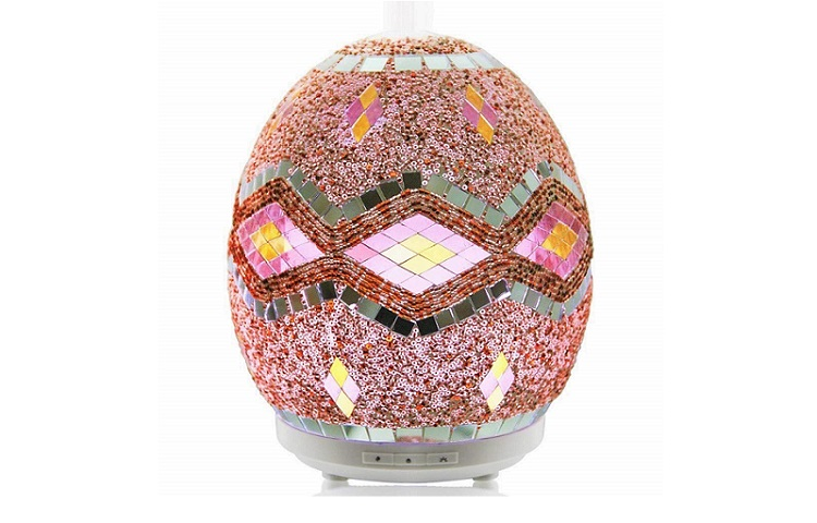 The Ultrasonic Mosaic Glowing Glass Essential Oil Diffuser by Mosa More Review