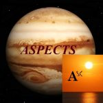 Natal Jupiter - Ascendant aspects