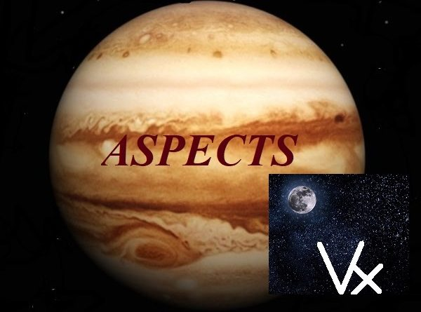 Natal Jupiter - Vertex aspects