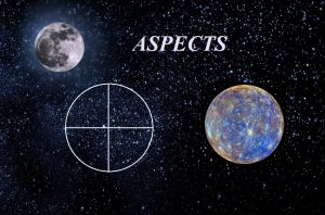 Natal Part of fortune - Mercury aspects