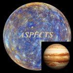 Natal mercury - Jupiter aspects