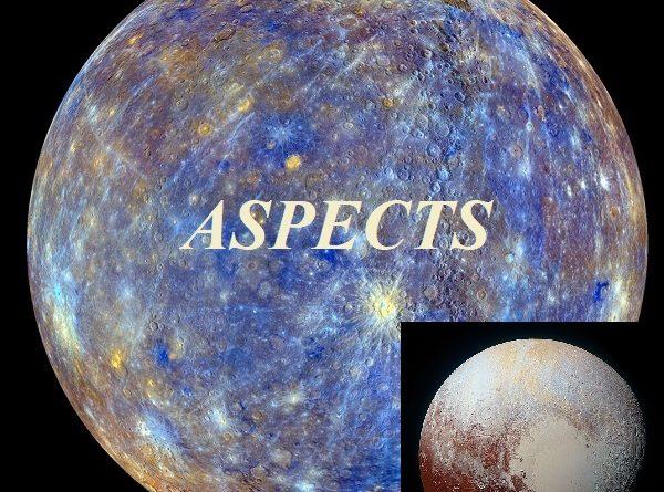 Natal Mercury - Pluto aspects