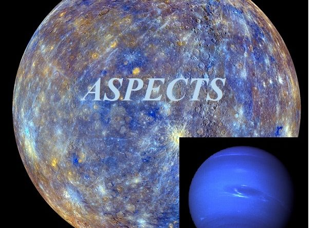 Mercury - Neptune aspects