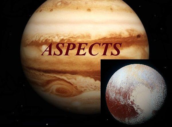 Natal Jupiter - Pluto aspects