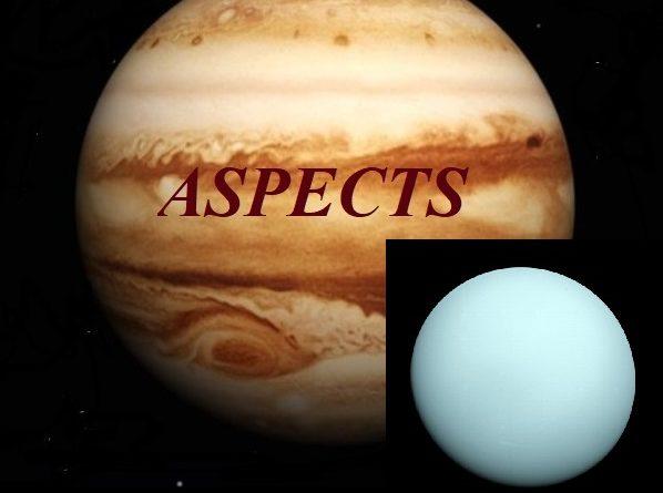 Natal Jupiter - Uranus aspects