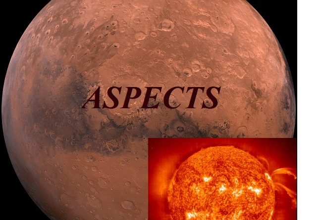 Natal Mars – Sun aspects