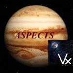 Natal Jupiter - Vertex aspects