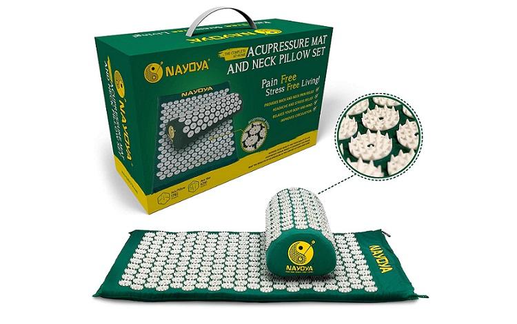 NAYOYA Acupressure Mat and Pillow Set Review