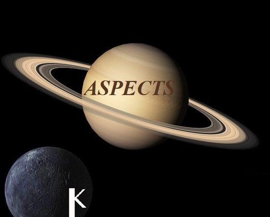 Natal Saturn - Chiron aspects