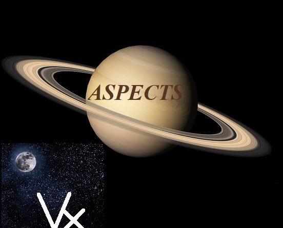 Natal Saturn - Vertex aspects