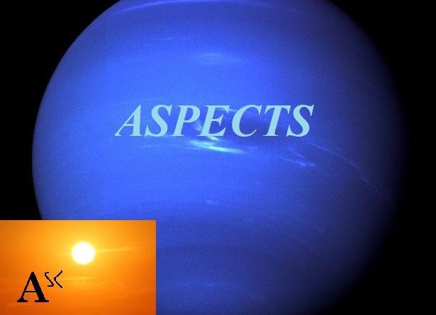 Natal Neptune – Ascendant aspects