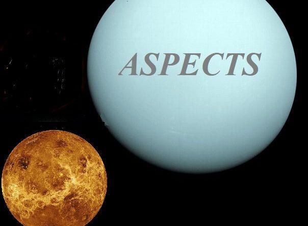 Natal Uranus - Venus aspects