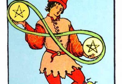 Two of Pentacles Tarot Card