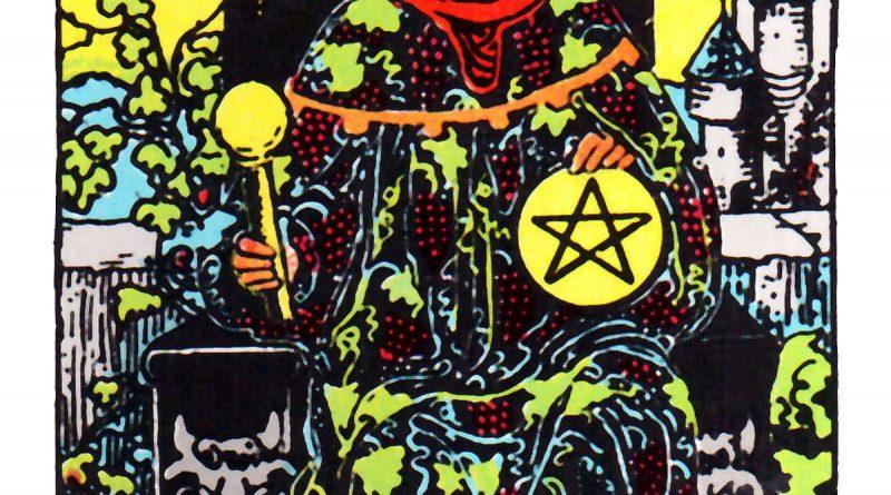 King of Pentacles Tarot Card